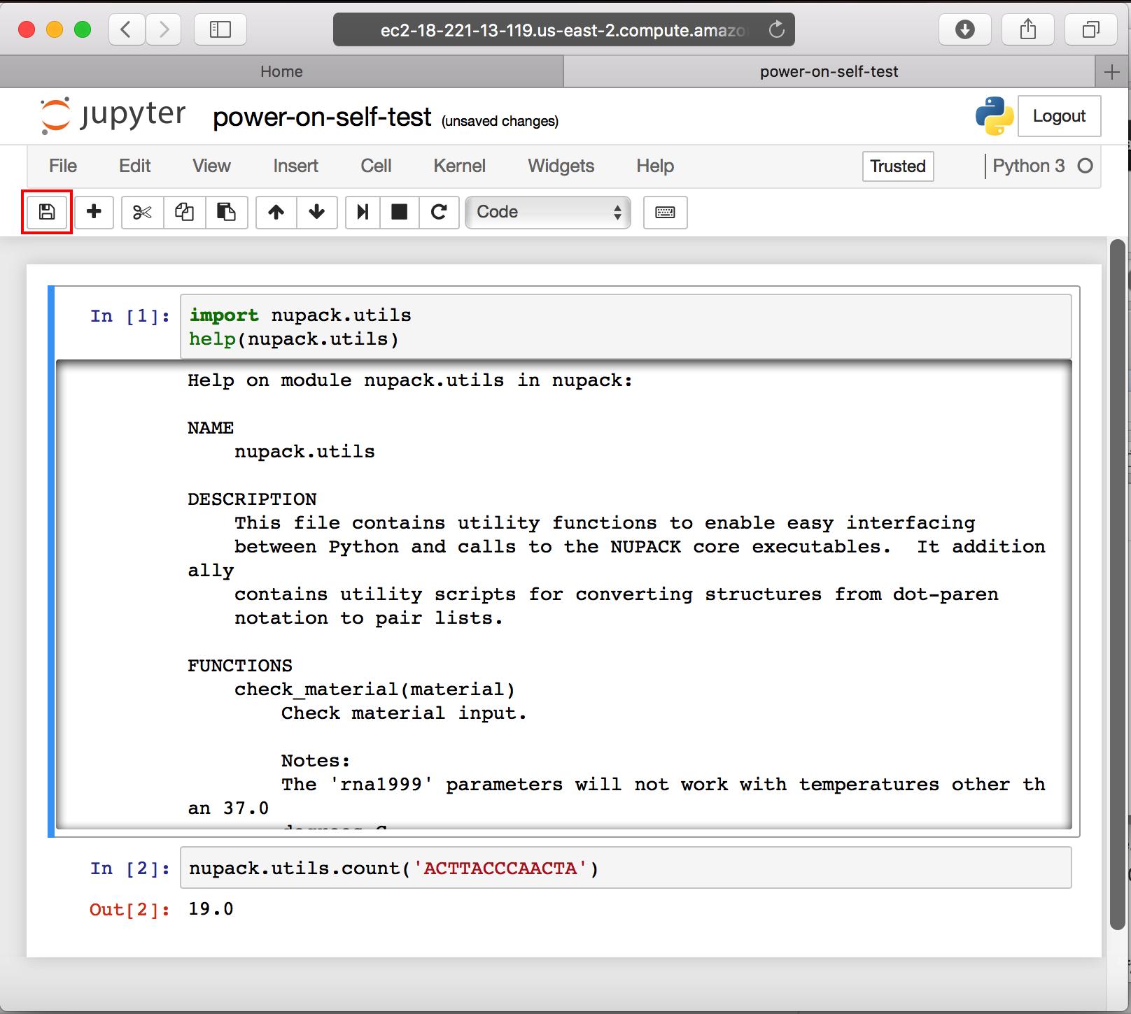 AWS Computing Resource Setup
